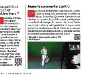 Karate3G™ dans 01net