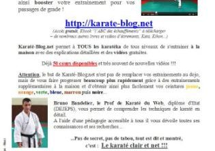 Karate-blog.net poster