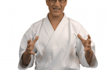 Bruno Bandelier, Karate teacher from the net
