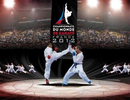 Championnats du Monde de Karaté - France 2012