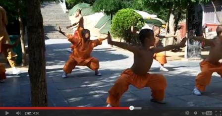 Formation Vivre à Shaolin