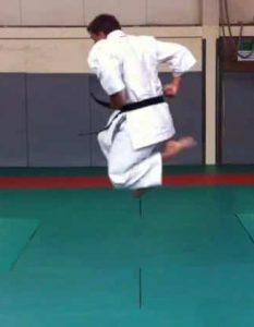Heian Godan Jumping