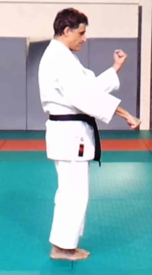 Heian Sandan : double blocage