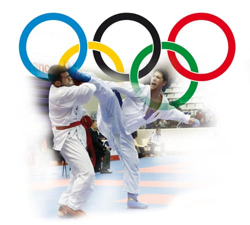Support Karate for the Olympic Games