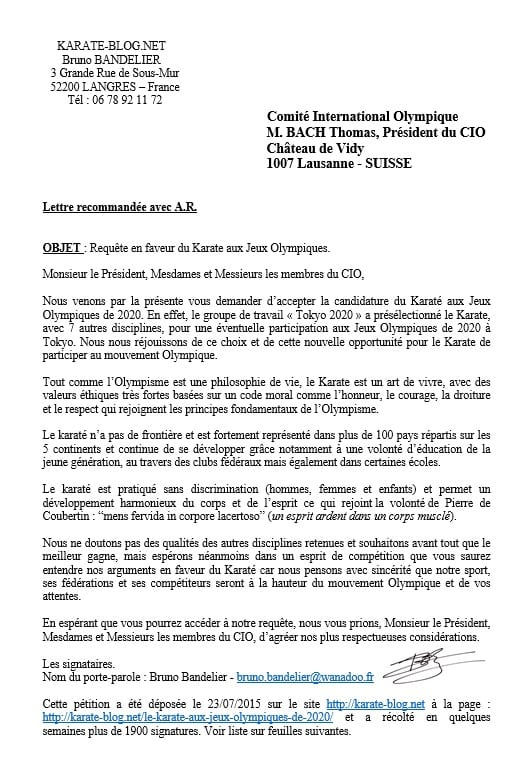 lettre ouverte au pr u00e9sident du comit u00e9 international olympique