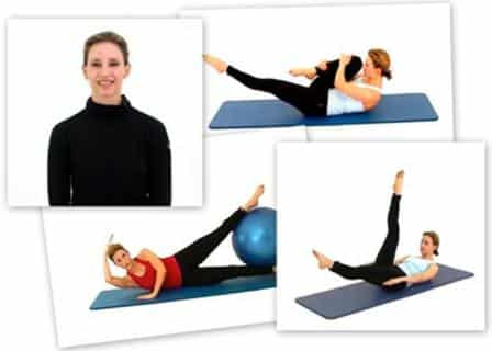 to learn Pilates in video, Pilates123