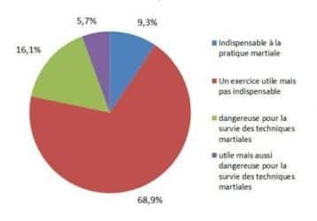Results Survey on the Risuqes of Martial Arts Sport Development