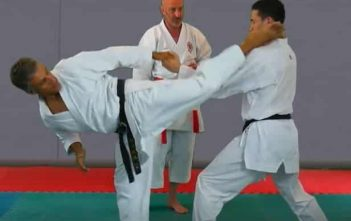 Ura Mawashi Geri - Work at 2