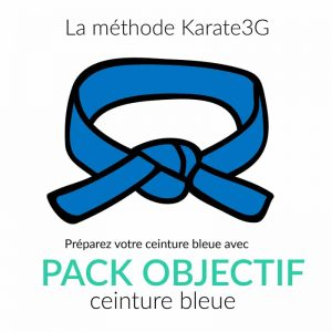 Karate3G Blue Belt Goal Pack