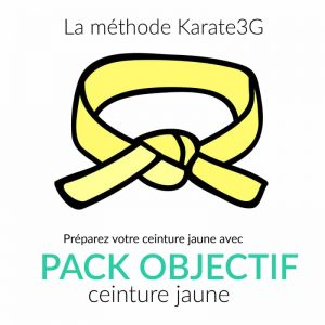 Karate3G Yellow Belt Pack