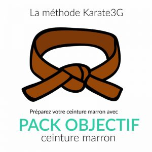 Karate3G Lens Brown Belt Pack