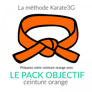 Karate3G Lens Pack Orange Belt