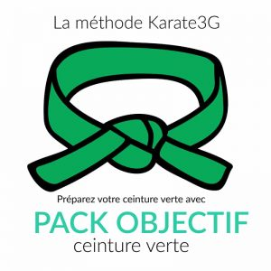 Karate3G Goal Pack Green Belt