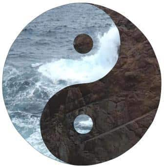 Yin and Yang, The sea and the land